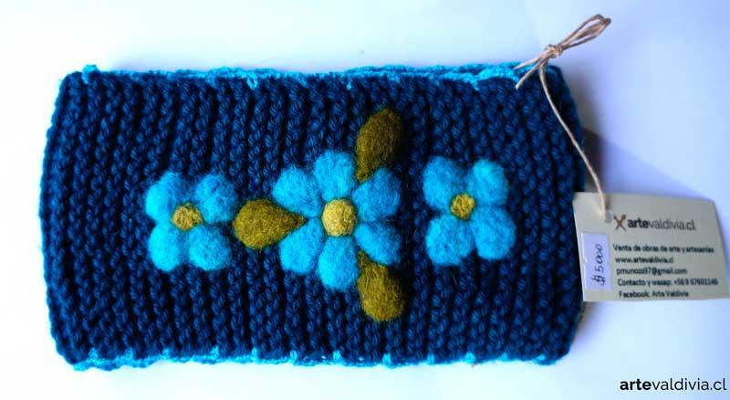 Cuello Flores Calipso - Arte Valdivia 7d96ee42410
