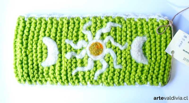 Cuello Verde Claro Sol - Arte Valdivia 4a49248e6eb